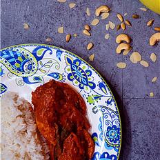 南印度风味咖喱鸡
