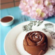 玫瑰状巧克力慕斯