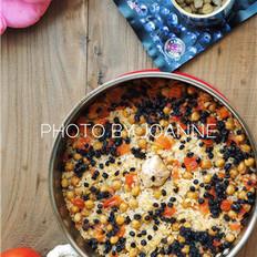 鹰嘴豆葡萄干焗饭