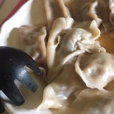 香菜香菇胡萝卜猪肉水饺