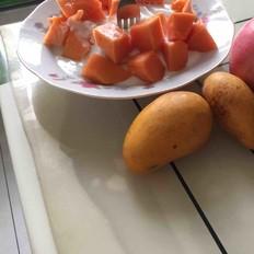 木瓜伴酸奶
