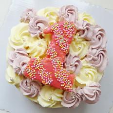 女宝周岁蛋糕