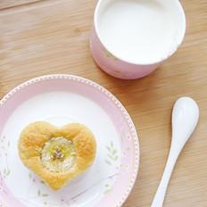 椰蓉香蕉蛋糕