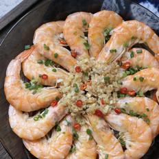 蒜蓉粉丝蒸白虾