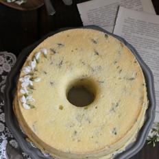槐花戚风蛋糕