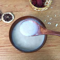核桃红枣燕麦米糊