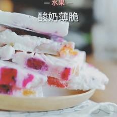 水果酸奶薄脆