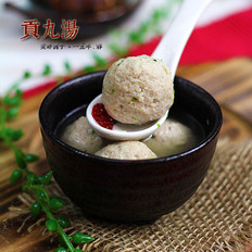 台式贡丸汤的做法
