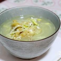 黄豆芽明太鱼汤