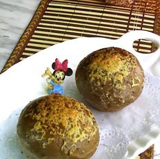 桑葚酥粒面包