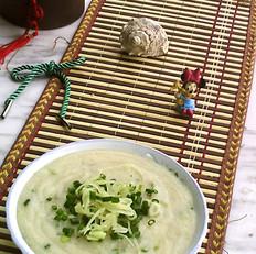 姜丝玉米羹的做法
