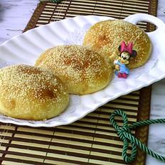 雪花酥粒面包