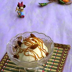 香浓牛奶香草冰淇淋