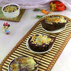 芝士焗紫薯