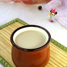 绿茶消暑豆浆
