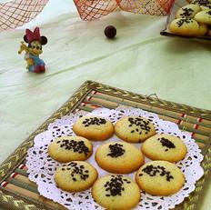 芝麻蛋白饼干