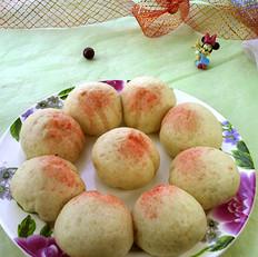 豆沙枣泥寿桃