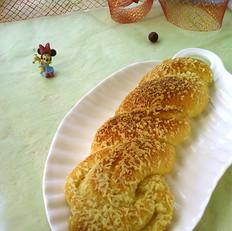 麻花酥粒面包