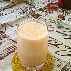 雪梨胡萝卜蜜奶饮