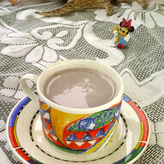 紫薯苹果豆浆