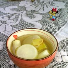 萝卜葱白汤