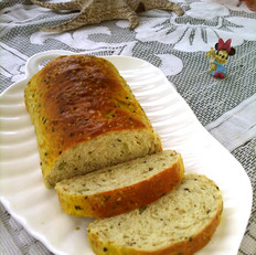 南瓜子芝麻面包