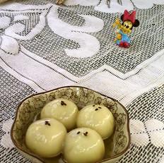 陈皮茯苓芝麻汤圆