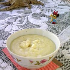 牛奶玉米面粥