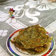 香椿蛋糊饼