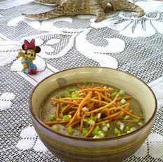紫菜虾皮玉米粥