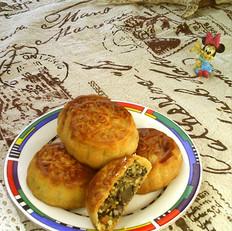 玉米芝麻月饼