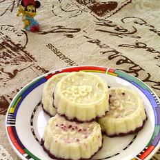 蜂蜜紫薯山药糕