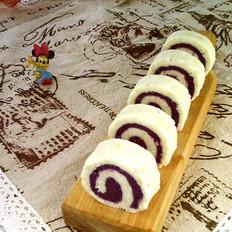 蜂蜜紫薯山药卷