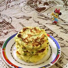 葱香山药饼