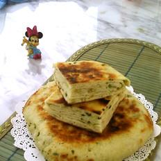 发面椒盐葱香千层饼