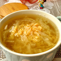 大白菜瑶柱汤