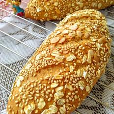 全麦杂粮乳酪面包
