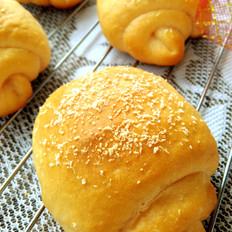 鲜奶油小面包卷的做法