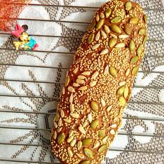 高纤乳酪面包