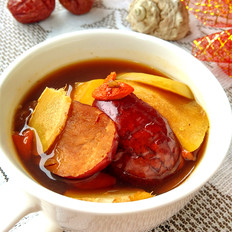 姜枣苹果汤