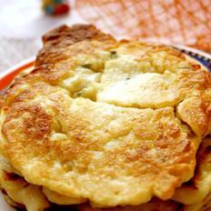 土豆山药鸡蛋饼