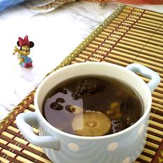 香菇木耳淡菜汤