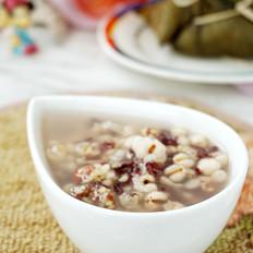 粽子薏米粥的做法