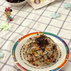 海苔胡萝卜炒饭