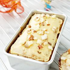 雪顶菠萝蜜核黄油蛋糕