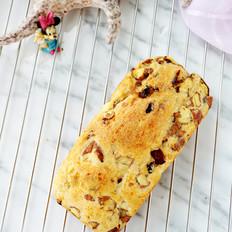 无油免揉菠萝蜜核蔓越莓全麦面包