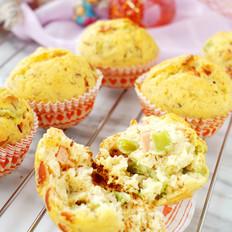 青椒香肠菠萝蜜核咸蛋糕
