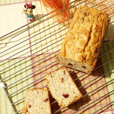 蔓越莓燕麦蜂蜜无粉菠萝蜜核蛋糕