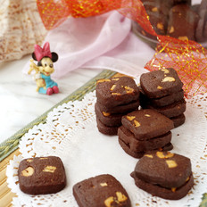 腰果巧克力饼干