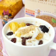 胚芽酸奶水果捞